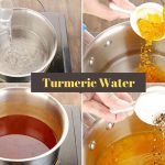 How to make Turmeric water